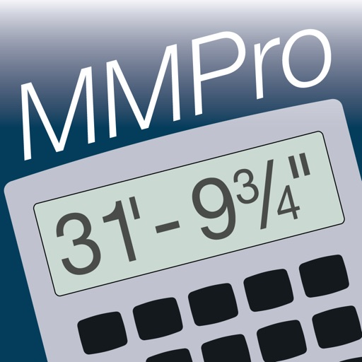 Measure Master Pro Feet Inch Fraction Calculator app logo
