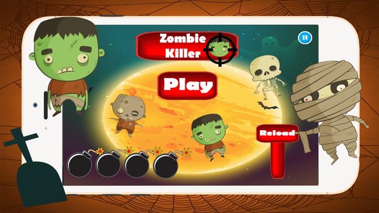 Killer Zombies Halloween:Shooter Fun Game For Kids