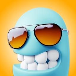 BlueMoji - 3D Emoji Stickers