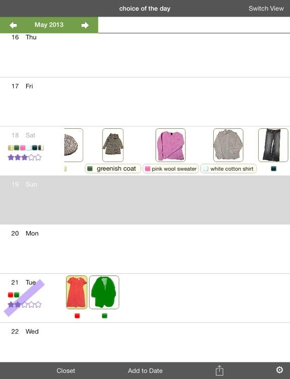 Clothing Plan