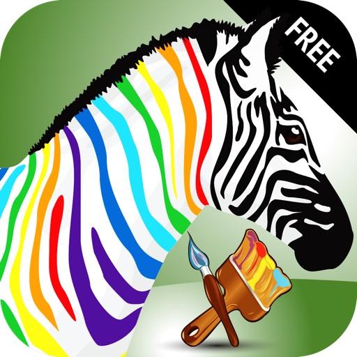Paint My Little Zebra
