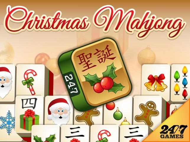 christmas mahjong plus on the app store