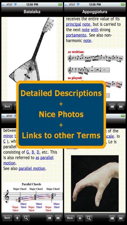 Glossary of Music