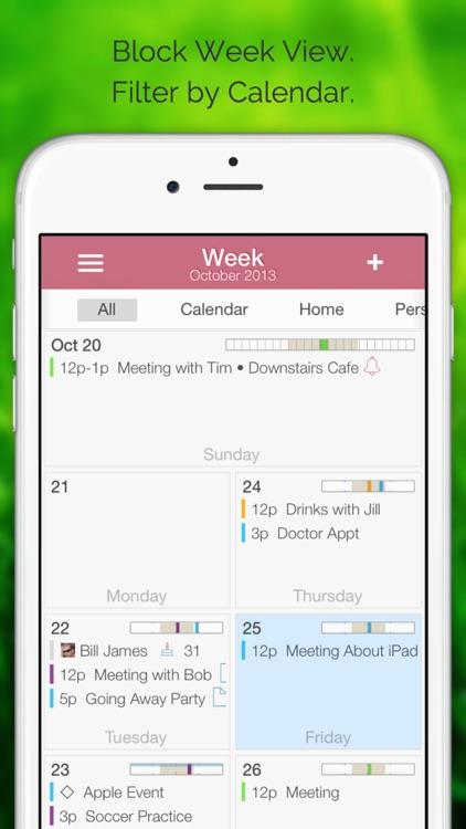 Extreme Week Calendar
