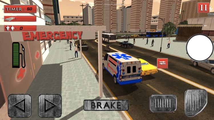 Ambulance Simulator : Rescue Mission 3D screenshot-3