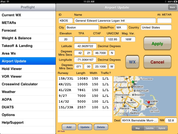 CFI Tools Preflight Wx+ screenshot-4