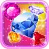 Crystal Insanity - Match 3 Diamond & Jewels Mania