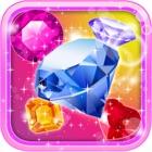 Crystal Insanity - Match 3 Diamond & Jewels Mania icon