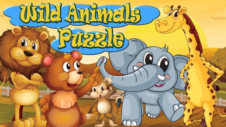 Wild animals kids puzzle games by Tiltan Games (2013) LTD