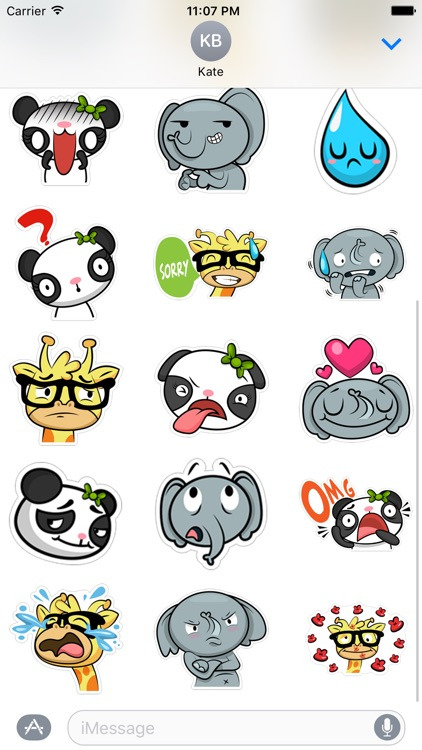The Zoo - Stickers for iMessage