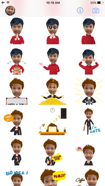FaceMoji - Turn your face into animated emoji screenshot-3