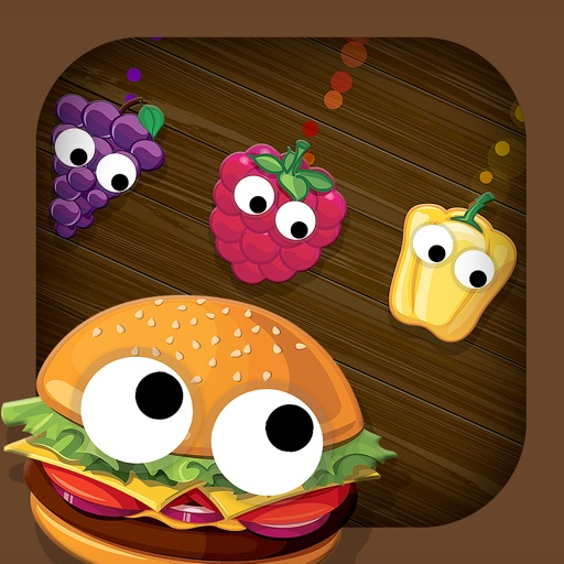 Smart Baby Shapes FOOD: Fun Jigsaw Puzzles and Learning Games for toddlers & little kids