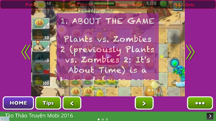 Locked Gate Guide For Plants vs. Zombies 2 Free