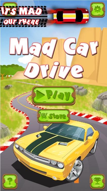 Mad Car Drive 2D: Crazy Driver