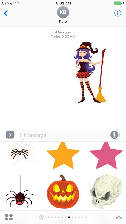 Spooky Wooky Emoji - Stickers