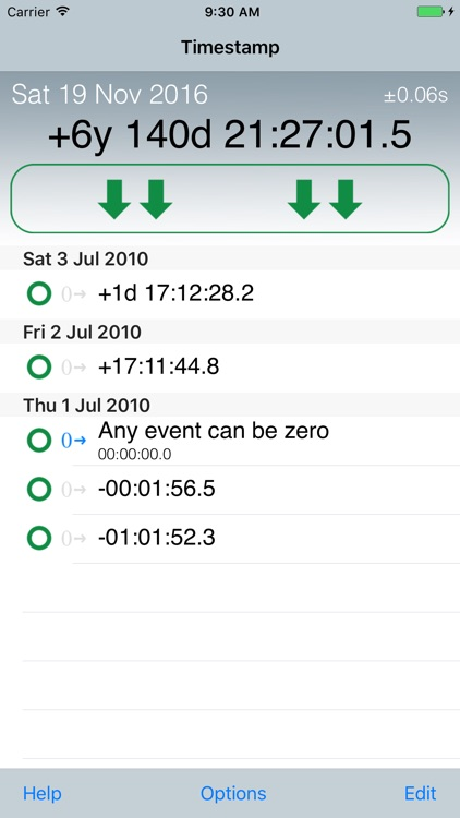 Emerald Timestamp screenshot-3