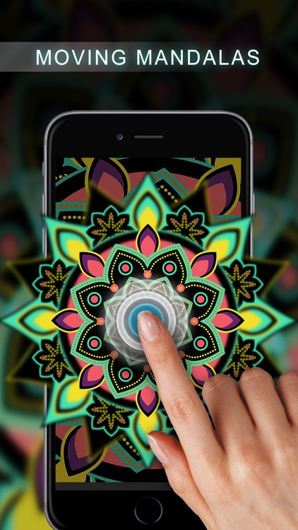 Live Mandala Wallpapers - Lock Screen Meditation screenshot-0