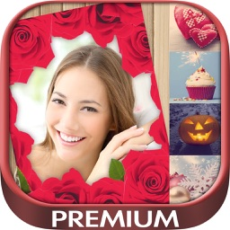 Love  Birthday Christmas Halloween Photo Frame Pro