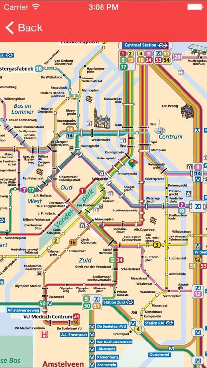 Amsterdam Public Transport Pro