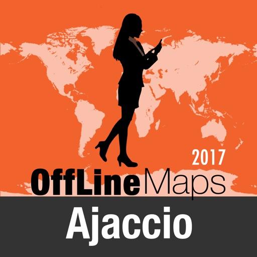 Ajaccio mapa offline y guía de viaje