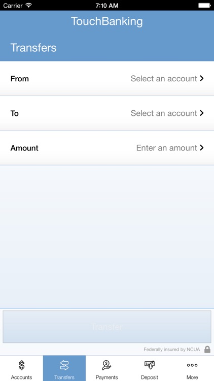 TouchBanking screenshot-4