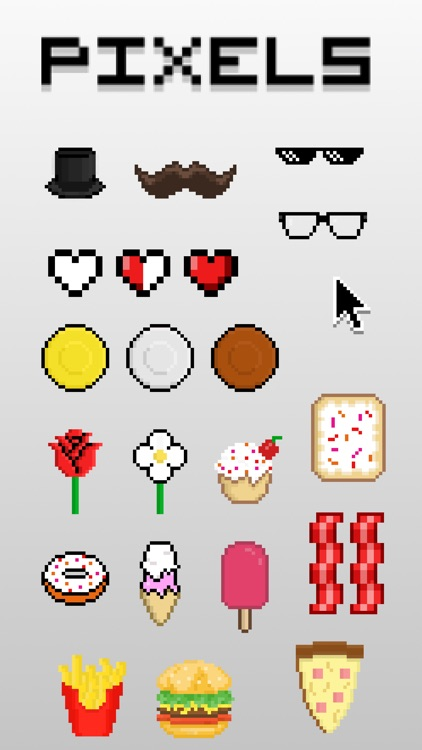 Pixels Sticker Pack
