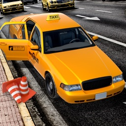 City Taxi Driver Sim 2016 - Yellow Cab Parking Maina in Las Vegas Real Traffic