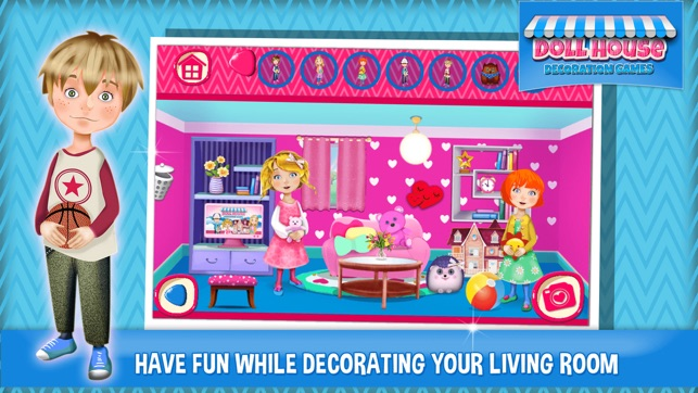Doll House Decoration Games Dream Home Design Er On The App Store