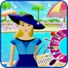 Pool Party Rock On - Free Dress Up and Makeover with Your Friends