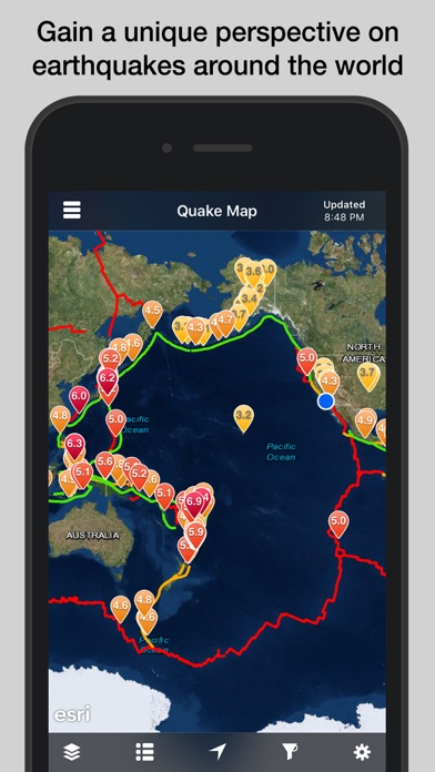 download QuakeFeed Earthquakes apps 2