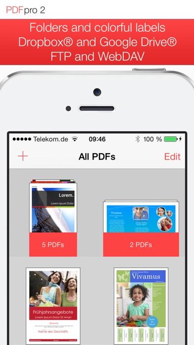 PDF Pro 2 – Die ultimative PDF AppScreenshot von 2