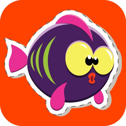 Gummy Fish Stickers