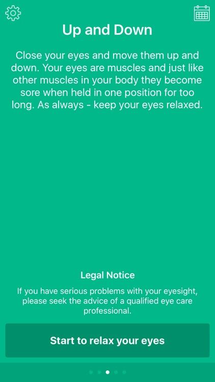 Eye Relax: Exercise eyesight and avoid fatigue