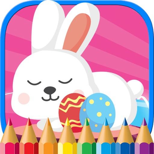 Conejo de Pascua para colorear huevo de Pascua jue App Revisión ...