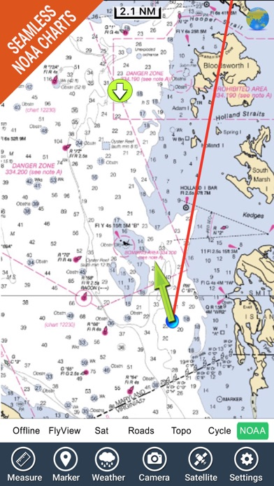 Chesapeake Bay Nautical Charts review screenshots