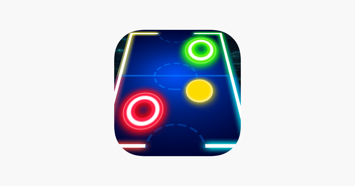 ipad and iphone glow air hockey 2players free mobile hd on the app 6145