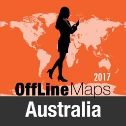 Australia Offline Map and Travel Trip Guide