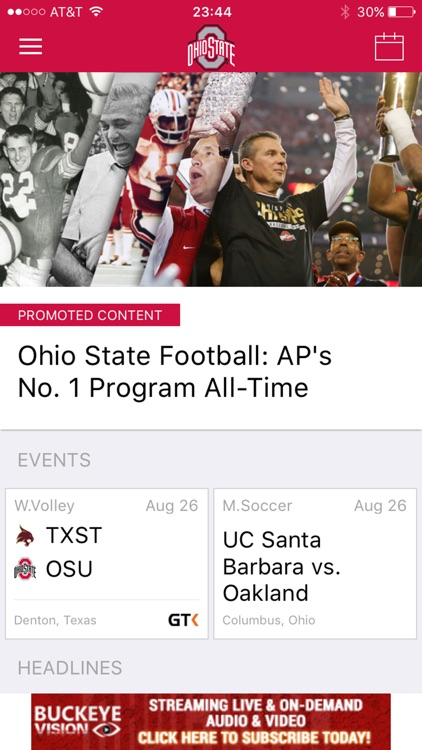 Ohio State Buckeyes Gameday LIVE screenshot-1
