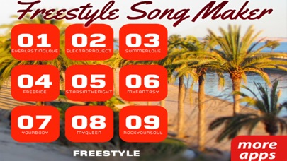 Freestyle Song Maker (Premium) screenshot 1