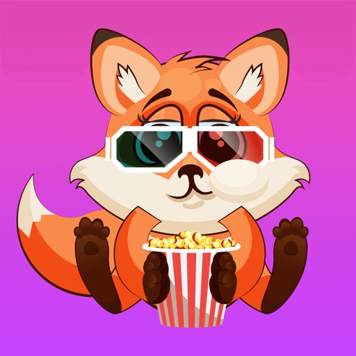 Fox Fun Emoji -Stickers