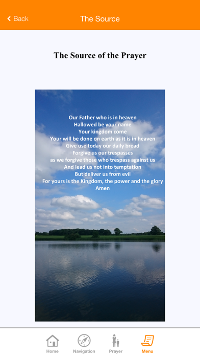 The Lord's Prayer and Jesus screenshot three