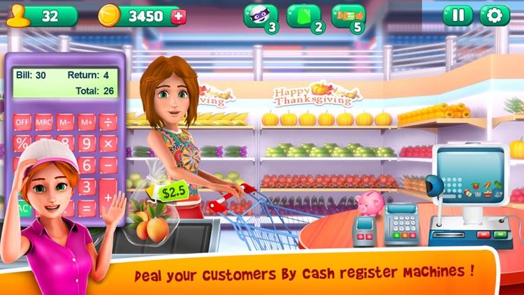 Thanksgiving Supermarket Store - Time Managament