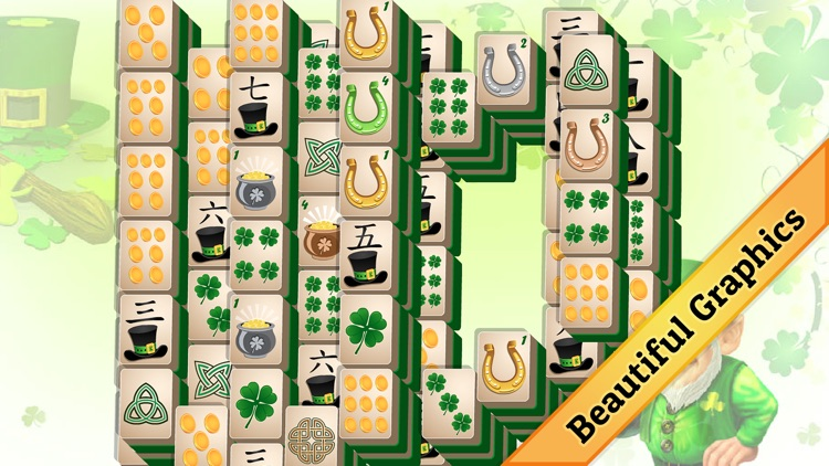 St. Patrick's Day Mahjong screenshot-3