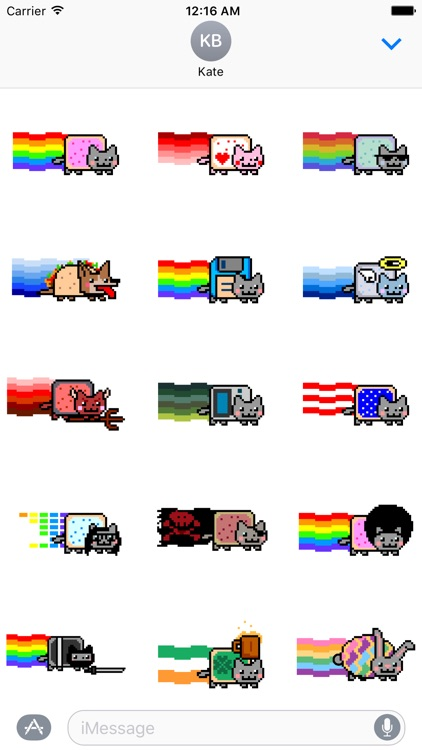 Nyan Cat Stickers! screenshot-0