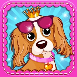 Little Girl Pet Fashion! Cute Dress-Up Spa & Salon