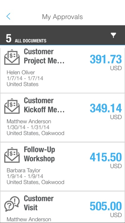 SAP Cloud for Travel and Expense screenshot-4