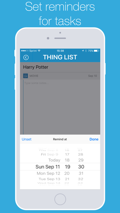 List Things - Personal Task Manager screenshot four