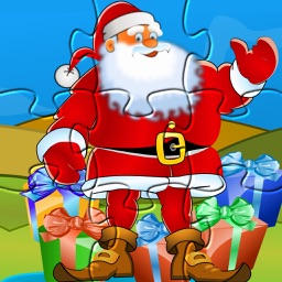 Puzzle for Santa claus: Christmas games for kids