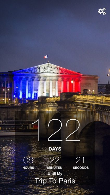 Paris Trip Countdown