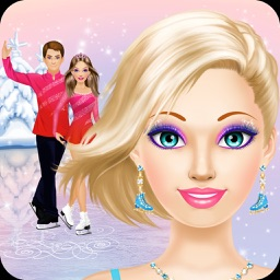 Figure Skater: Ice Skating Makeup & Dress Up Games